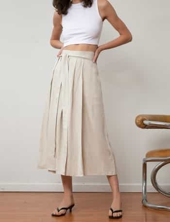 different types of maxi skirts